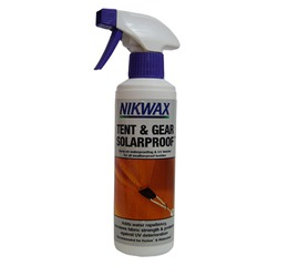 Impregnace NIkwax TENT & GEAR SOLARPROOF 500 ml na stany a batohy